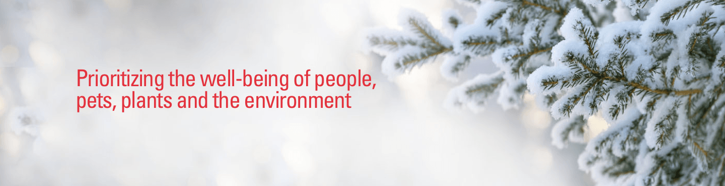Prioritizing the well-being of people, pets, plants, & the environment