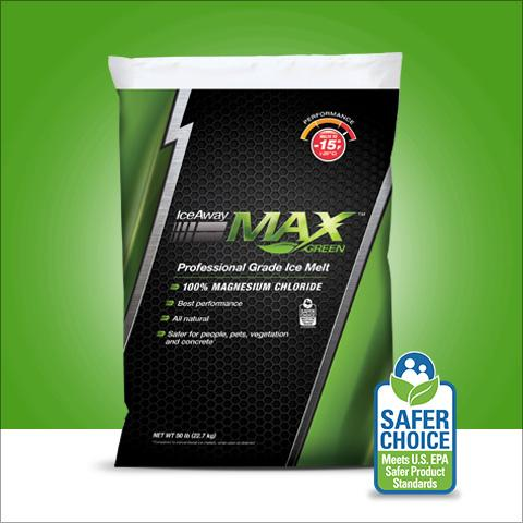 Max Green Professional Ice Melt | IceAway